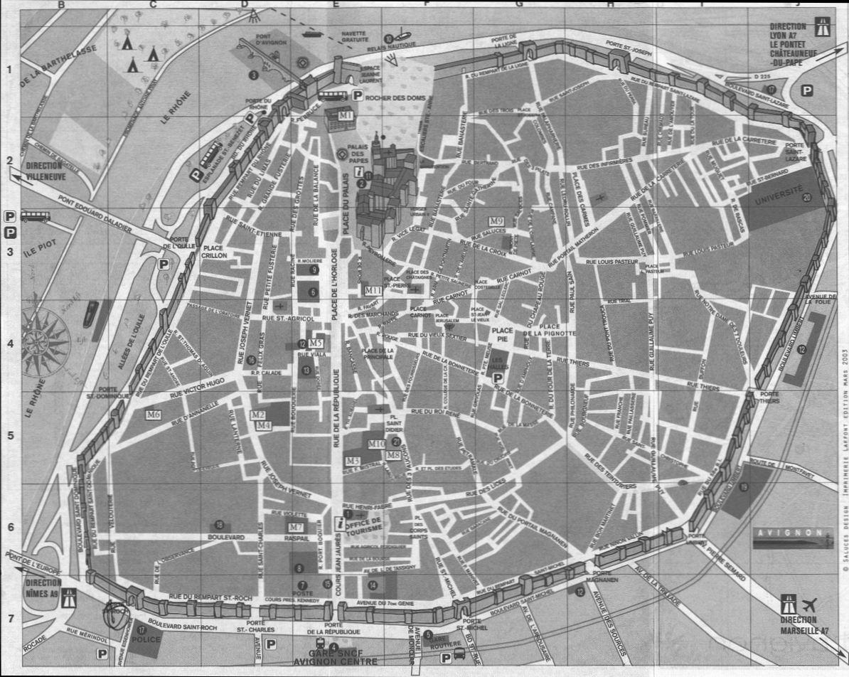 Plan D Avignon